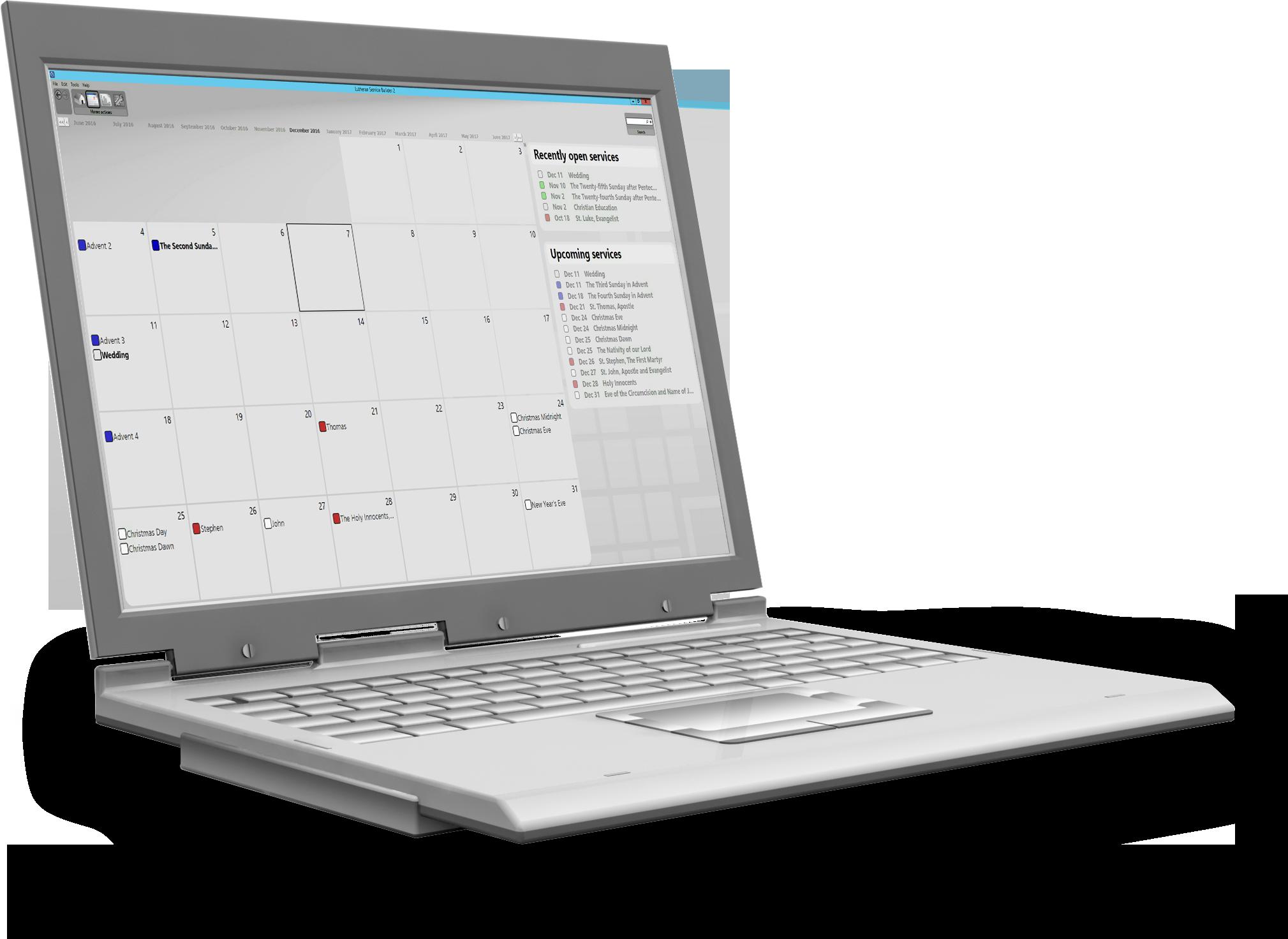 Worship Service Planning Software Lutheran Service Builder
